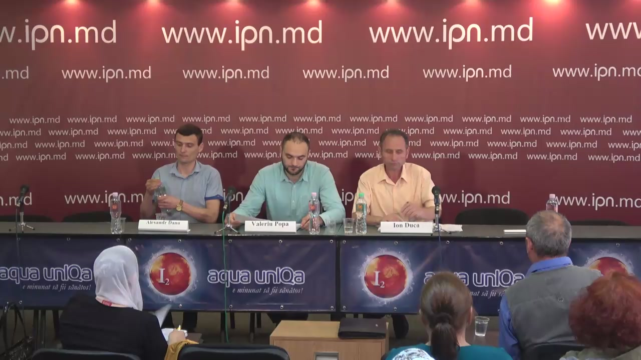 """Conferință de presă cu tema """"Revendicările cetățenilor privind construcția centrului de prelucrare deșeurilor periculoase în orașul Sângera"""""""