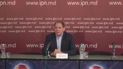 """Conferință de presă susținută de fostul consilier municipal, Oleg Cernei, cu tema """"Primăria capitalei, decapitată cu ajutorul CNA. Dedesubturile reținerilor din ultimul timp și ce urmează"""""""
