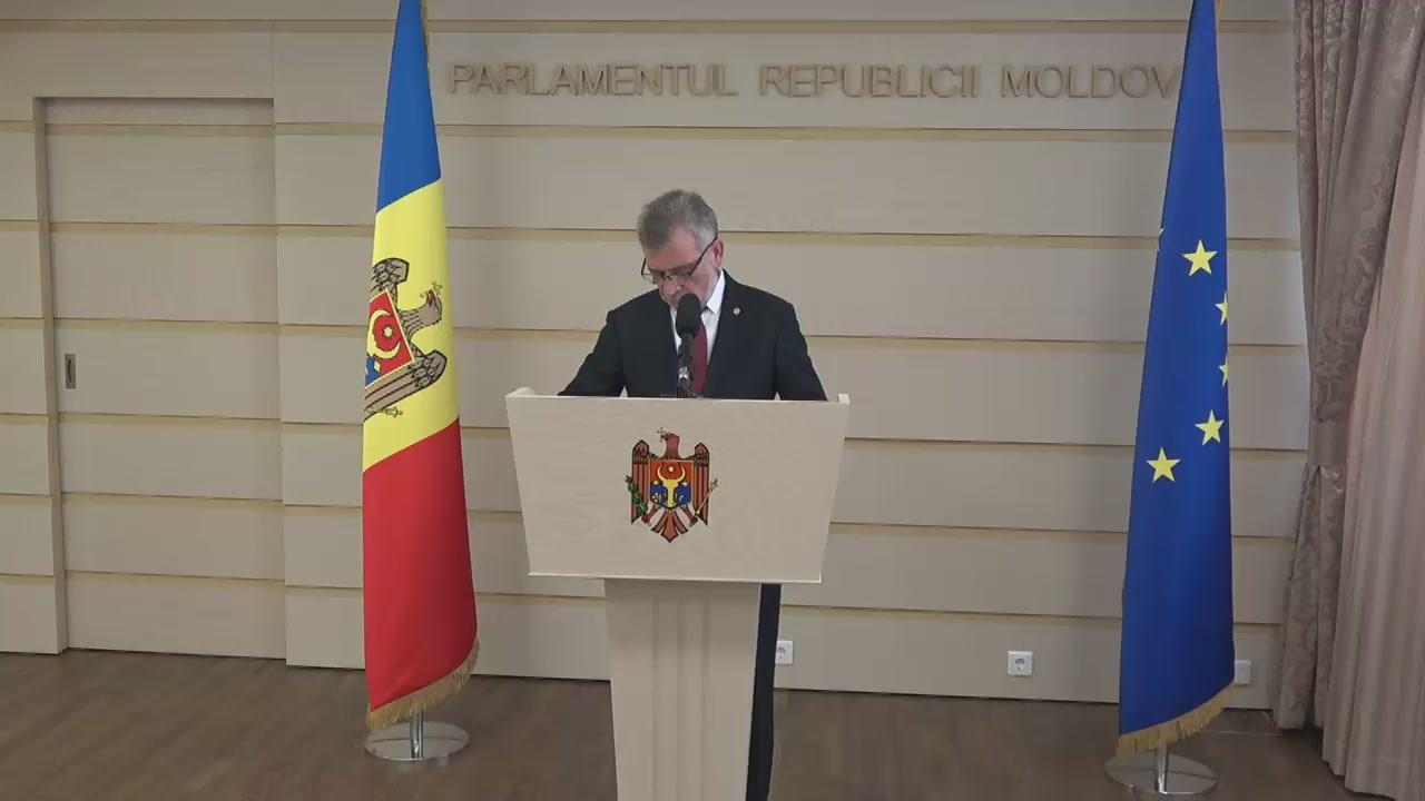 Declarațiile lui Tudor Deliu în timpul ședinței Parlamentului Republicii Moldova din 26 mai 2017