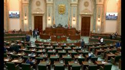Ședința în plen a Senatului României din 29 mai 2017
