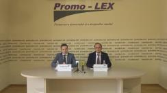 Conferință de presă organizată de Asociația Promo-LEX în contextul publicării de către CtEDO a trei Hotărâri ce se referă la încălcarea drepturilor omului în Republica Moldova, inclusiv regiunea transnistreană