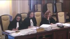Ședința publică a Curții Constituționale a României din 30 mai 2017