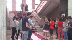 Declarații după vizita Premierului României, Sorin Grindeanu, la Ministerul Afacerilor Interne