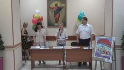 """Ceremonia de decernare a premiilor Concursului republican de arte plastice pentru copii """"Justiție – eu te văd așa"""", organizat de Institutul Național al Justiției și Școala de arte plastice pentru copii """"A. Șciusev"""""""