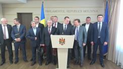 Declarația fracțiunii PSRM în timpul ședinței Parlamentului Republicii Moldova din 2 iunie 2017