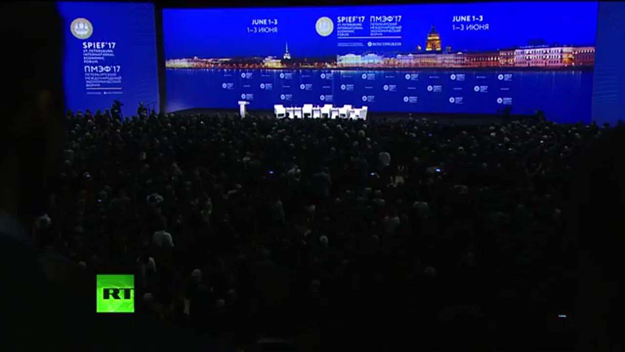 Transmisiune în direct de la Forumul Economic Internațional din Sankt Petersburg, cu participarea Președintelui Republicii Moldova, Igor Dodon