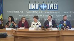 """Conferință de presă susținută de avocații și reprezentanții internaționali ai primarului orașului Orhei, Ilan Șor, cu tema """"Ilan ȘOR anunță despre acțiunile privind lupta pentru apărarea reputației sale"""""""