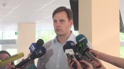 Ședința de judecată a fostului deputat PLDM, Chiril Lucinschi, la Curtea de Apel Chișinău