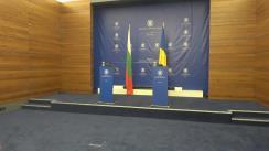 Conferință comună de presă susținută de Ministrul Afacerilor Externe al României, Teodor Meleșcanu, și Ministrul Afacerilor Externe al Bulgariei, Ekaterina Spasova Gheceva-Zaharieva