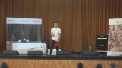 Evenimentul Ora de Net la Școala Gimnazială Ferdinand I cu Alina Eremia, Liviu Teodorescu și Andrei Leonte