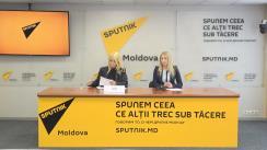 """Conferință de presă organizată de Partidul ȘOR cu tema """"Prima reacție a deputaților din cadrul Parlamentului European privind situația lui Ilan ȘOR"""""""