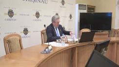 Ședința săptămânală a serviciilor primăriei Chișinău din 12 iunie 2017