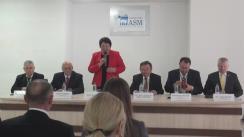 Ședința deschisă a Senatului Universității AȘM privind conferirea titlului onorific de Doctor Honoris Causa domnului Rainer Arnold
