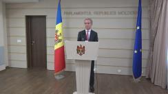 Declarațiile lui Iurie Leancă în timpul ședinței Parlamentului Republicii Moldova din 9 iunie 2017