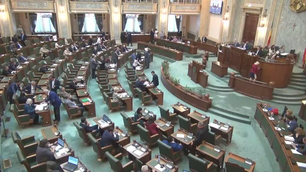 Ședința în plen a Senatului României din 12 iunie 2017