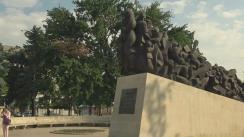Ceremonia de comemorare a victimelor primului val de deportări staliniste, din anul 1949
