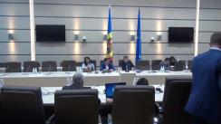 Audieri publice organizate de Comisia securitate națională, apărare și ordine publică a proiectului de lege cu privire la prevenirea și combaterea spălării banilor și finanțării terorismului