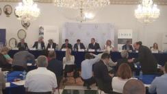 """Conferința organizată de Camera de Comerț și Industrie a României cu tema """"Achizițiile publice: obstacol sau oportunitate pentru companiile românești?"""""""