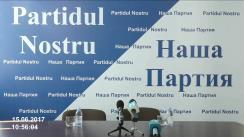 """Conferință de presă cu tema """"Noile provocări din partea poliției și presei lui Plahotniuc împotriva Partidului Nostru"""""""