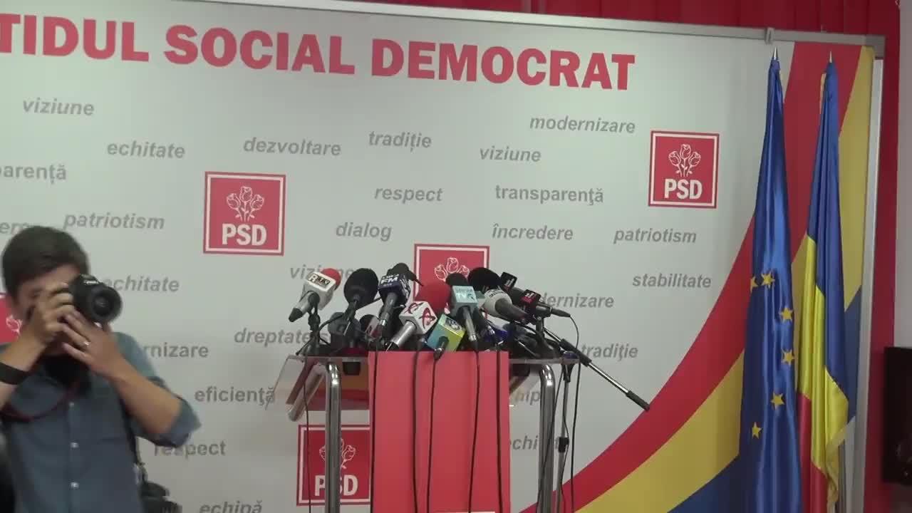 Declarațiile lui Liviu Dragnea după Comitetul Executiv al Partidului Social Democrat