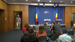Declarații de presă susținute de Premierul României, Sorin Grindeanu