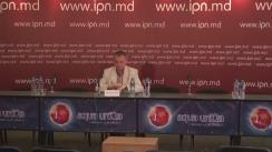"""Conferința de presă organizată de Centrul Interregional de Advocacy și Diplomație cu tema """"Forumul Economic Internațional de la Arad și rezultatele pentru Republica Moldova"""""""