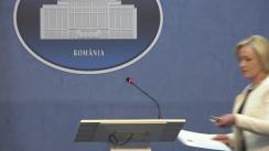Declarație de presă susținută de Ministrul Afacerilor Interne, Carmen Daniela Dan