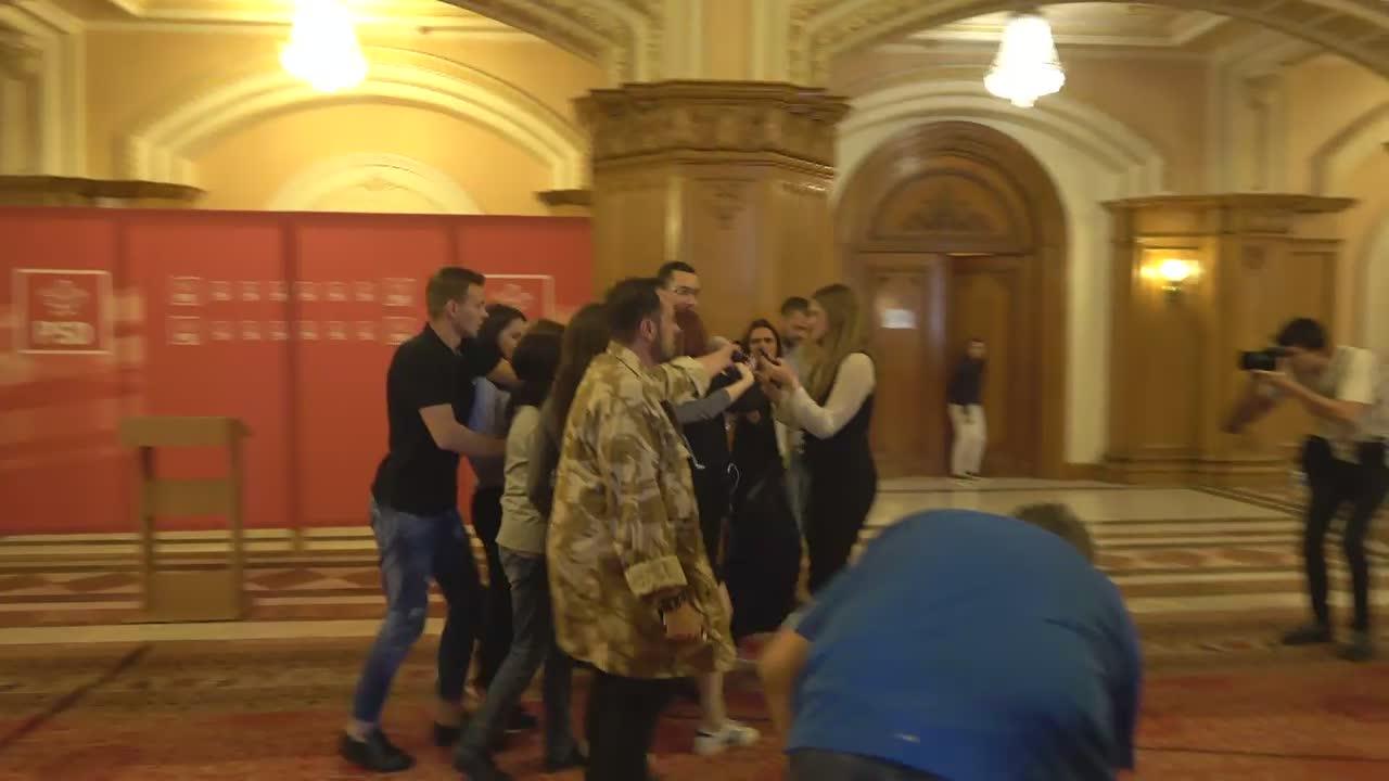 Declarațiile lui Victor Ponta înainte de ședința comună a Senatului și Camerei Deputaților României din 18 iunie 2017