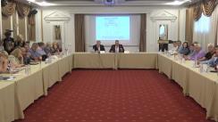 """Conferința cu tema """"Sistemul electoral al Republicii Moldova: ieri, azi, mâine"""""""
