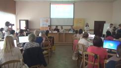 Conferința de presă cu ocazia lansării Programului internațional de instruire în domeniul prevenirii cancerului de col uterin