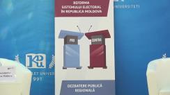 Dezbateri la Comrat PRO sau CONTRA modificării sistemului electoral: Cetățenii întreabă – politicienii răspund