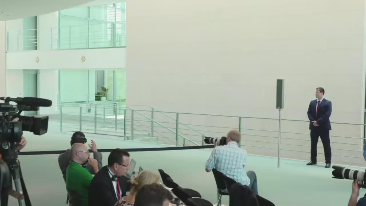 Conferință de presă susținută de Președintele României, Klaus Iohannis, și Cancelarul Germaniei, Angela Merkel