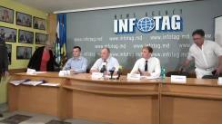 """Conferință de presă organizată de Asociația Producătorilor de Conserve SPERANȚA-CON cu tema """"Daunele de milioane ale reducerii cotei taxei ecologice"""""""