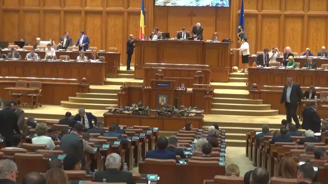 Ședința în plen a Camerei Deputaților României din 20 iunie 2017
