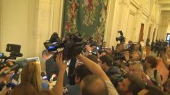 Declarație de presă susținută Victor Ponta înainte de dezbaterea și votul asupra Moțiunii de cenzură împotriva Guvernului condus de Sorin Grindeanu