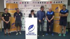 Conferință de presă prilejuită de disputarea ultimului meci test World Rugby din această lună, România - Brazilia