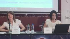 """Conferință de presă organizată de Centrul pentru Jurnalism Independent cu tema """"Elemente de propagandă, manipulare informațională și încălcare a normelor deontologiei jurnalistice în spațiul mediatic autohton"""" (1 aprilie 2017 - 1 iunie 2017)"""