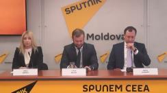 """Briefing susținut de avocații lui Ilan Șor, Iulian Balan și Denis Ulanov, cu tema """"Detalii despre cazul lui Ilan Șor și soluția instanței de judecată!"""""""