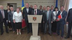 Declarația fracțiunii PSRM după ședința Parlamentului Republicii Moldova din 22 iunie 2017