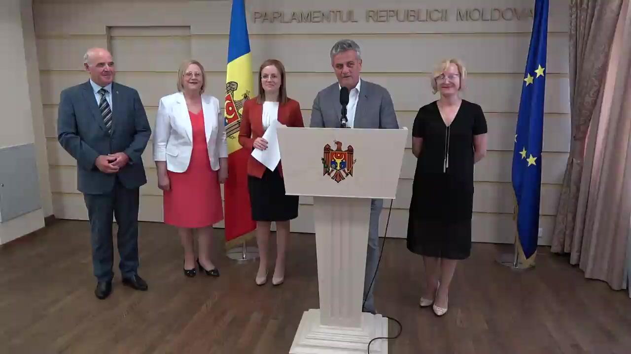 Declarația fracțiunii PCRM după ședința Parlamentului Republicii Moldova din 22 iunie 2017