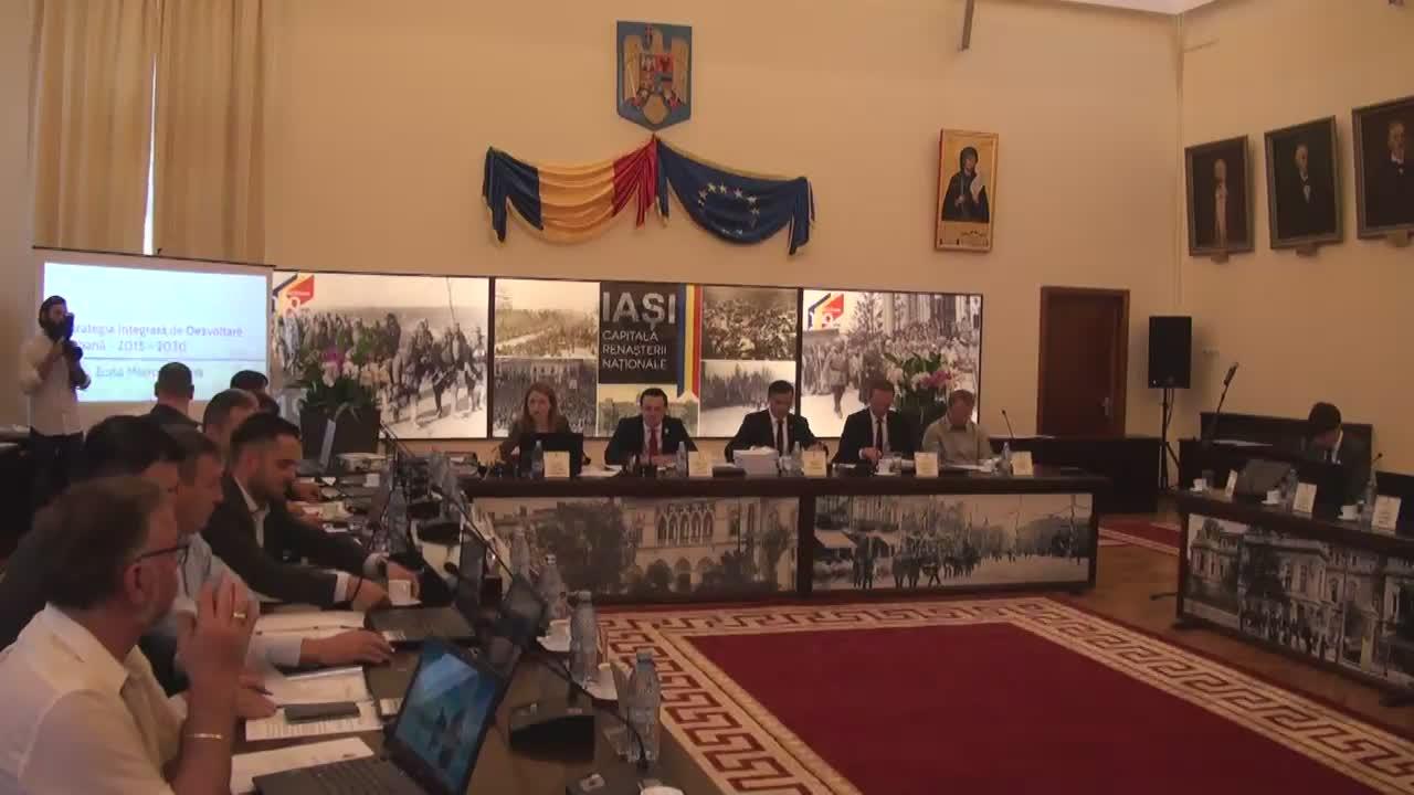 Ședința Consiliului Local al Municipiului Iași din 23 iunie 2017