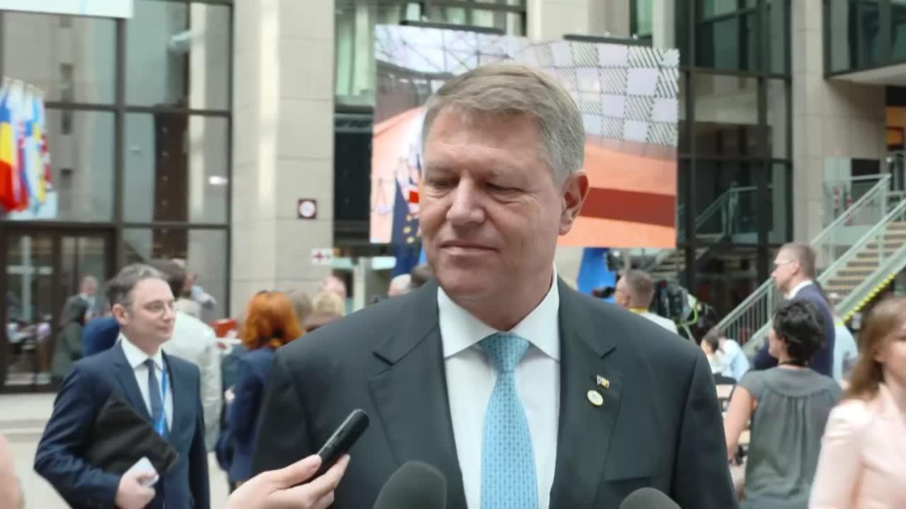 Declarație de presă susținută de Președintele României, Klaus Iohannis, la finalul întâlnirii cu Președintele Franței, Emmanuel Macron