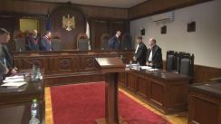 Ședința Curții Constituționale cu privire la excesul de putere prevăzut de Codul penal
