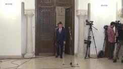 Declarații de presă susținute de reprezentanții PNL, după consultările cu Președintele României, Klaus Iohannis, în vederea desemnării unui candidat pentru funcția de Prim-ministru