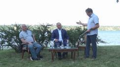 """Exclusiv pe malul Nistrului. Igor Dodon, președintele Republicii Moldova în Clubul de presă """"Rezonanța socială"""". Oaspetele special din Berlin - Alexander Rahr, jurnalist internațional, publicist, scriitor, politolog """"Cu privire la noul post a lui Băsescu; va grația oare președintele Moldovei pe Filat, Platon și Șhor; și de ce... Washingtonul și Bruxellesul totuși nicidecum nu înțeleg vechile """"glume"""" sovietice?"""""""