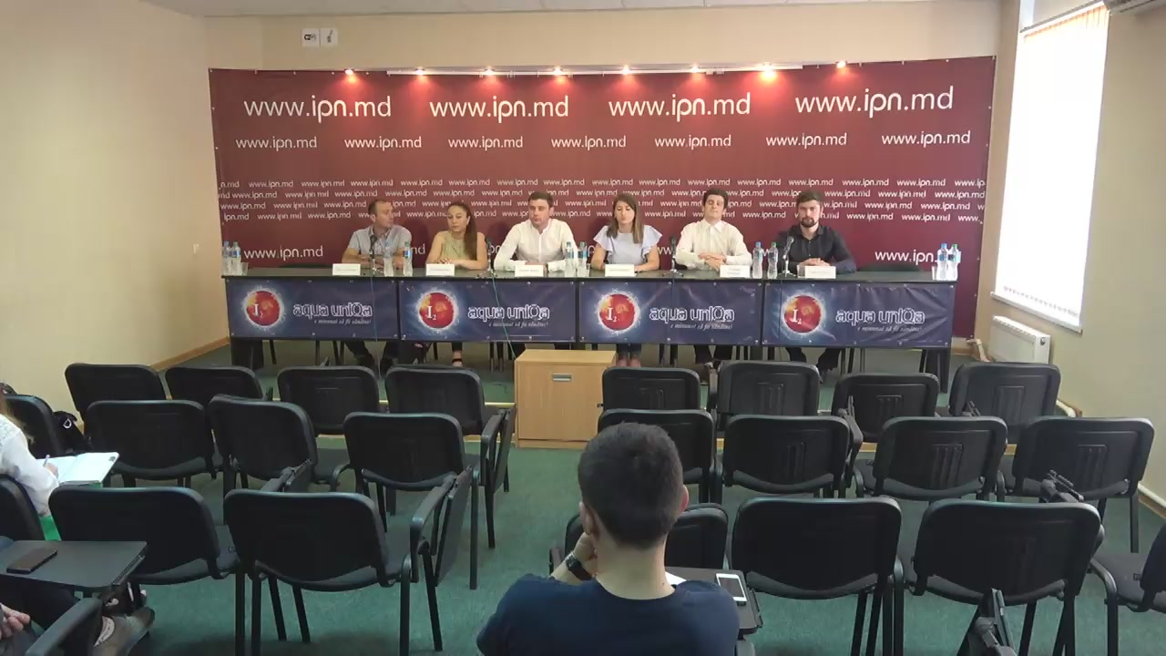 """Conferință de presă organizată de Mișcarea de tineret Urmașii lui Ștefan dedicată lansării proiectului de tineret """"Young Leadership Summer School"""""""