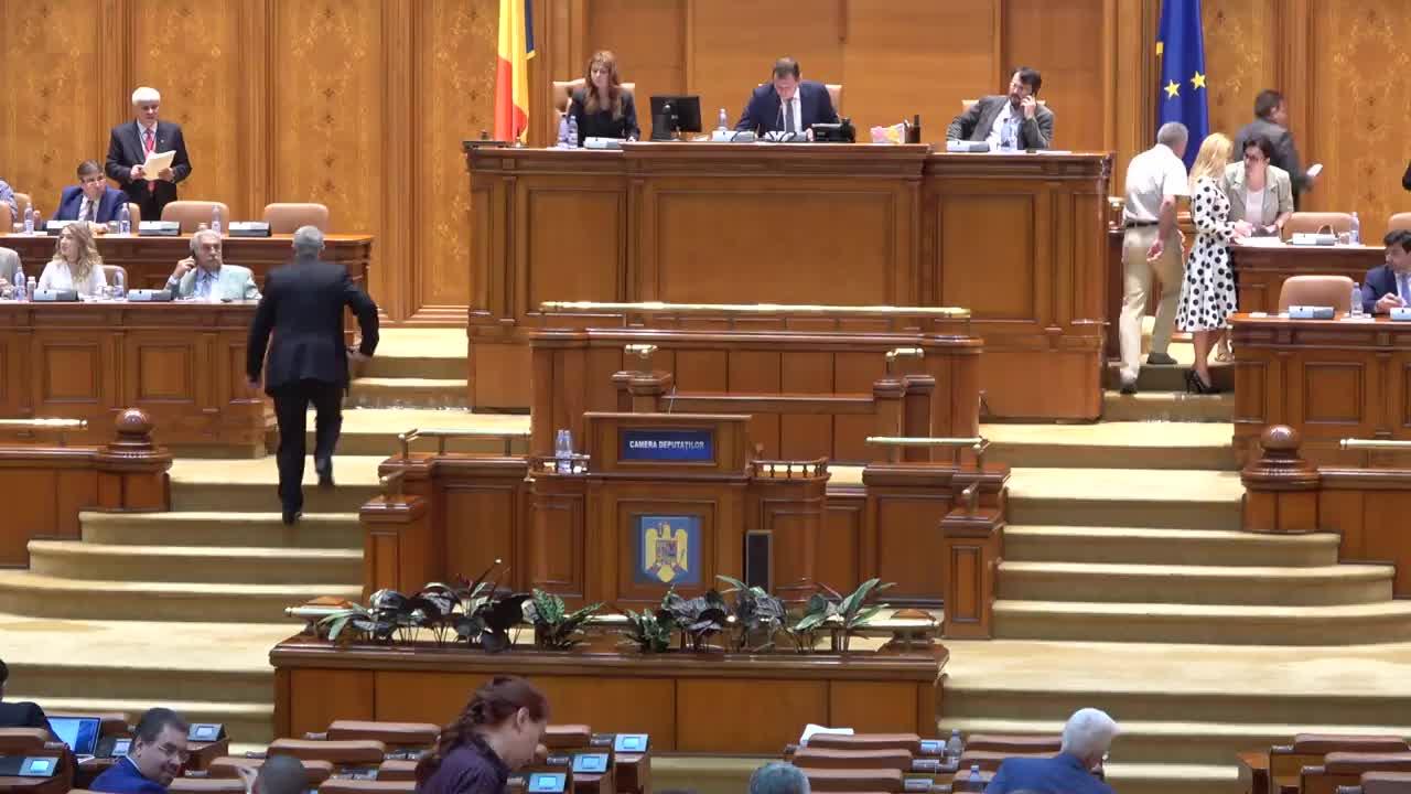 Ședința în plen a Camerei Deputaților României din 27 iunie 2017