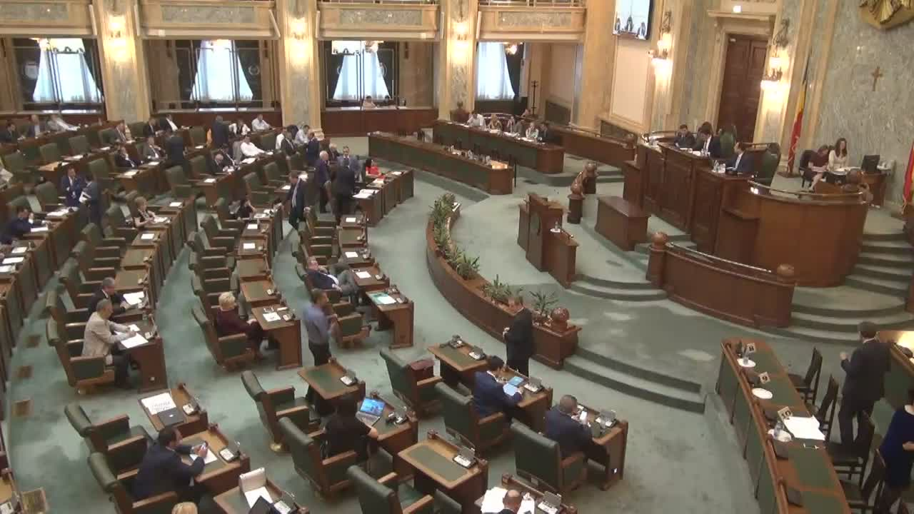 Ședința în plen a Senatului României din 20 iunie 2017