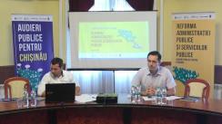 """Audieri publice pentru Chișinău cu tema """"Reorganizarea Direcției Generale Educație, Tinere și Sport (DGETS), prin lichidarea Direcțiilor educație de sector"""""""