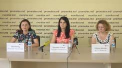 """Conferința de presă """"O nouă abordare în asistența acordată victimelor violenței în familie"""""""